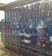 Pvc Strip Curtain And High Temperature Rubber Sheet